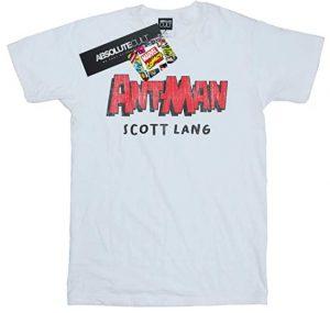 Camiseta de Ant-man Scott Lang - Las mejores camisetas de Antman - Camisetas de Marvel