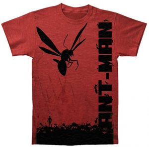 Camiseta de Ant-man con hormigas - Las mejores camisetas de Antman - Camisetas de Marvel