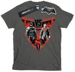 Camiseta de Batman vs Superman Battle - Las mejores camisetas de Superman - Camisetas de DC