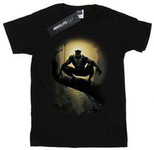 Camiseta de Black Panther en la rama - Las mejores camisetas de Black Panther - Camisetas de Marvel
