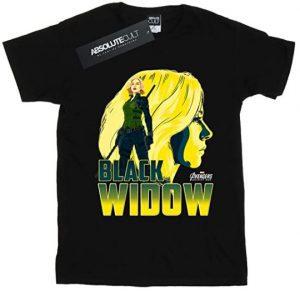 Camiseta de Black Widow Infinity War - Las mejores camisetas de Black Widow - Viuda Negra - Camisetas de Marvel