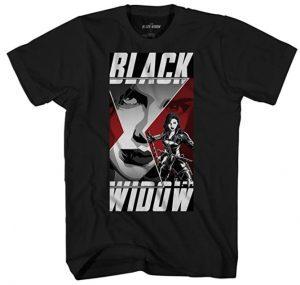 Camiseta de Black Widow Logo - Las mejores camisetas de Black Widow - Viuda Negra - Camisetas de Marvel
