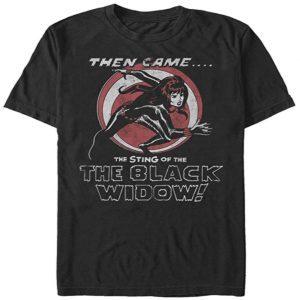 Camiseta de Black Widow cómic - Las mejores camisetas de Black Widow - Viuda Negra - Camisetas de Marvel