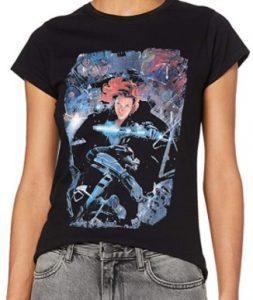 Camiseta de Black Widow de mujer - Las mejores camisetas de Black Widow - Viuda Negra - Camisetas de Marvel