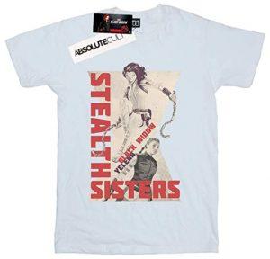 Camiseta de Black Widow y Yelena - Las mejores camisetas de Black Widow - Viuda Negra - Camisetas de Marvel