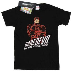 Camiseta de Daredevil The man without Fear 2 - Las mejores camisetas de Daredevil - Camisetas de Marvel