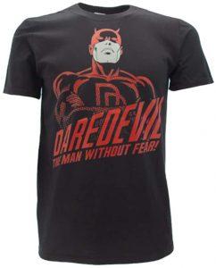 Camiseta de Daredevil The man without Fear - Las mejores camisetas de Daredevil - Camisetas de Marvel