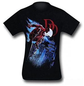 Camiseta de Daredevil azotea - Las mejores camisetas de Daredevil - Camisetas de Marvel