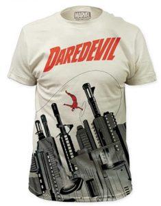Camiseta de Daredevil en la ciudad - Las mejores camisetas de Daredevil - Camisetas de Marvel