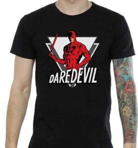 Camiseta de Daredevil triángulo - Las mejores camisetas de Daredevil - Camisetas de Marvel