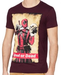 Camiseta de Dead or Dead de Deadpool - Las mejores camisetas de Deadpool - Camisetas de Marvel