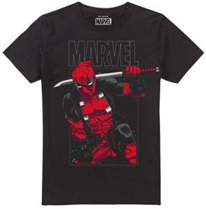 Camiseta de Deadpool con katana - Las mejores camisetas de Deadpool - Camisetas de Marvel