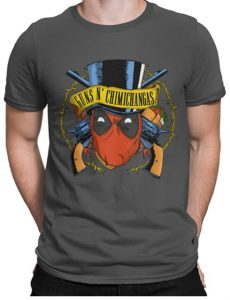 Camiseta de Deadpool de Guns N Chimichangas - Las mejores camisetas de Deadpool - Camisetas de Marvel