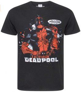 Camiseta de Deadpool de estilo comic - Las mejores camisetas de Deadpool - Camisetas de Marvel