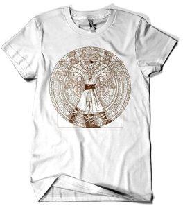 Camiseta de Doctor Strange Vitruvio - Las mejores camisetas de Doctor Extraño - Doctor Strange - Camisetas de Marvel