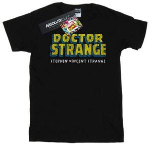 Camiseta de Doctor Strange nombre - Las mejores camisetas de Doctor Extraño - Doctor Strange - Camisetas de Marvel