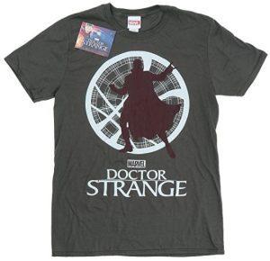 Camiseta de Doctor Strange silueta - Las mejores camisetas de Doctor Extraño - Doctor Strange - Camisetas de Marvel