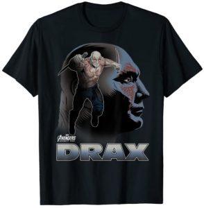 Camiseta de Drax Avengers Day - Las mejores camisetas de Drax de Guardianes de la Galaxia - Camisetas de Marvel