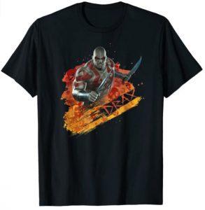 Camiseta de Drax comic - Las mejores camisetas de Drax de Guardianes de la Galaxia - Camisetas de Marvel