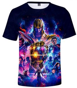 Camiseta de End Game de Thanos - Las mejores camisetas de Thanos - Camisetas de Marvel