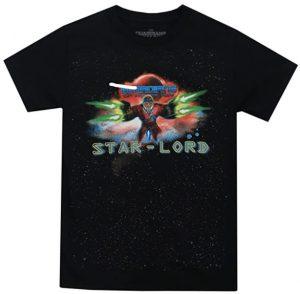 Camiseta de Galaxia de Star Lord - Las mejores camisetas de Star-Lord de Guardianes de la Galaxia - Camisetas de Marvel