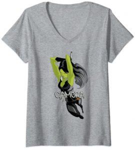 Camiseta de Gamora Assassin - Las mejores camisetas de Gamora de Guardianes de la Galaxia - Camisetas de Marvel