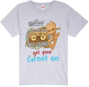 Camiseta de Get Your Groot On - Las mejores camisetas de Groot de Guardianes de la Galaxia - Camisetas de Baby Groot