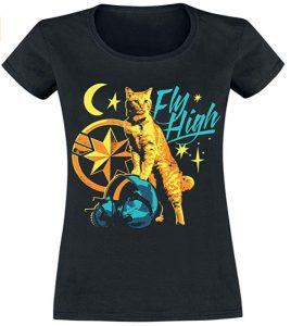 Camiseta de Goose de Capitana Marvel - Las mejores camisetas de Capitana Marvel - Camisetas de Marvel