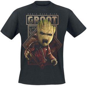 Camiseta de Groot Angry - Las mejores camisetas de Groot de Guardianes de la Galaxia - Camisetas de Baby Groot