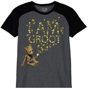 Camiseta de Groot Glow - Las mejores camisetas de Groot de Guardianes de la Galaxia - Camisetas de Baby Groot