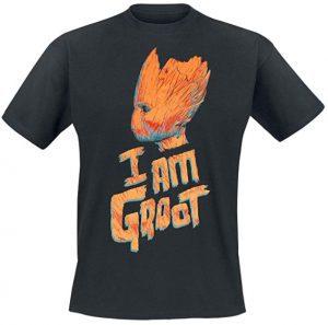 Camiseta de Groot I Am Groot - Las mejores camisetas de Groot de Guardianes de la Galaxia - Camisetas de Baby Groot