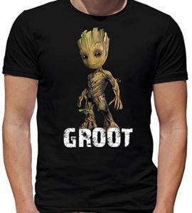 Camiseta de Groot - Las mejores camisetas de Groot de Guardianes de la Galaxia - Camisetas de Baby Groot