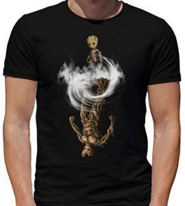 Camiseta de Groot Power - Las mejores camisetas de Groot de Guardianes de la Galaxia - Camisetas de Baby Groot