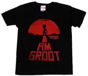 Camiseta de Groot RED - Las mejores camisetas de Groot de Guardianes de la Galaxia - Camisetas de Baby Groot