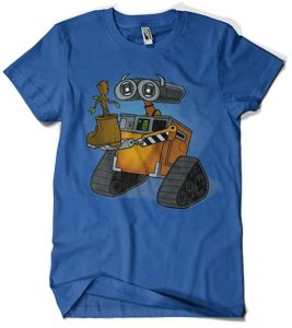 Camiseta de Groot Wall-e - Las mejores camisetas de Groot de Guardianes de la Galaxia - Camisetas de Baby Groot