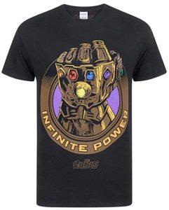 Camiseta de Guantelete del Infinito clásico de Thanos - Las mejores camisetas de Thanos - Camisetas de Marvel