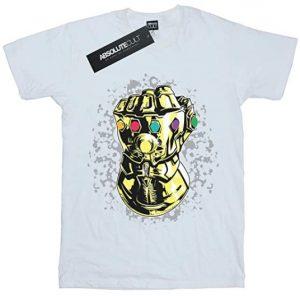 Camiseta de Guantelete del Infinito único de Thanos - Las mejores camisetas de Thanos - Camisetas de Marvel