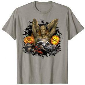 Camiseta de Halloween Groot - Las mejores camisetas de Groot de Guardianes de la Galaxia - Camisetas de Baby Groot