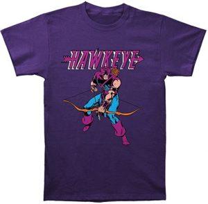 Camiseta de Hawkeye diseño cómic - Las mejores camisetas de Hawkeye - Ojo de Halcón - Camisetas de Marvel
