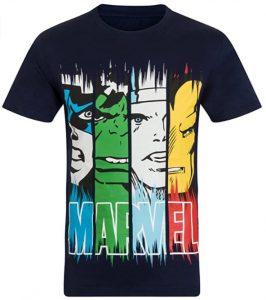 Camiseta de Hulk Iron man Thor Capitan América - Las mejores camisetas de Hulk - Camisetas de Marvel
