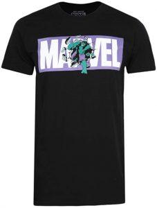 Camiseta de Hulk del logo de Marvel - Las mejores camisetas de Hulk - Camisetas de Marvel