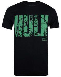 Camiseta de Hulk negra y verde - Las mejores camisetas de Hulk - Camisetas de Marvel