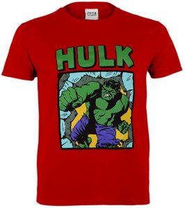 Camiseta de Hulk rojo - Las mejores camisetas de Hulk - Camisetas de Marvel