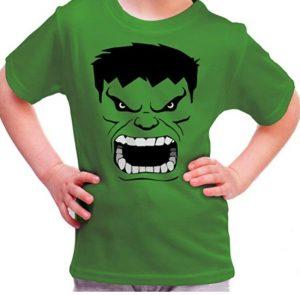 Camiseta de Hulk verde de niño - Las mejores camisetas de Hulk - Camisetas de Marvel