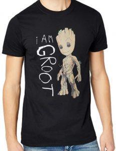 Camiseta de I Am Groot - Las mejores camisetas de Groot de Guardianes de la Galaxia - Camisetas de Baby Groot