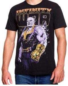 Camiseta de Infinity War de Thanos - Las mejores camisetas de Thanos - Camisetas de Marvel