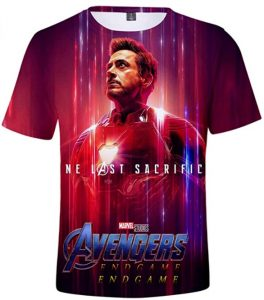 Camiseta de Iron man de Endgame - Las mejores camisetas de Iron man - Camisetas de Marvel