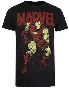 Camiseta de Iron man de los cómics - Las mejores camisetas de Iron man - Camisetas de Marvel