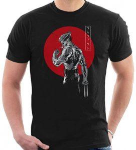 Camiseta de Lobezno Japanese - Las mejores camisetas de Lobezno - Wolverine - Camisetas de Marvel