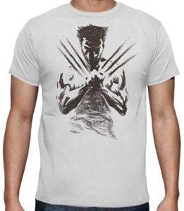 Camiseta de Lobezno X - Las mejores camisetas de Lobezno - Wolverine - Camisetas de Marvel